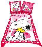 Parure HOUSSE DE COUETTE Snoopy -140x200cm et Taie Snoopy