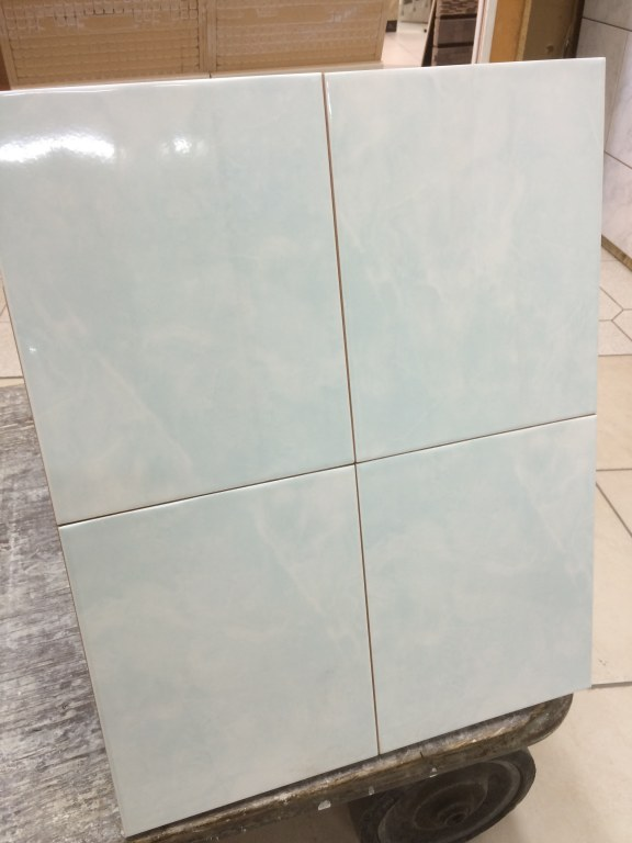 Carrelage fa ence volga bleu vert 20x25 destockage grossiste for Grossiste carrelage