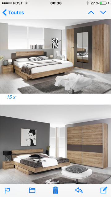 Chambres a coucher made in germany destockage grossiste for Chambre a coucher destockage