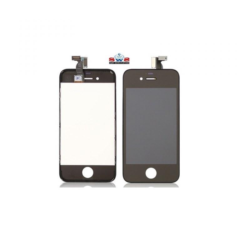 ecran lcd iphone 4s noir new space telecom destockage grossiste. Black Bedroom Furniture Sets. Home Design Ideas