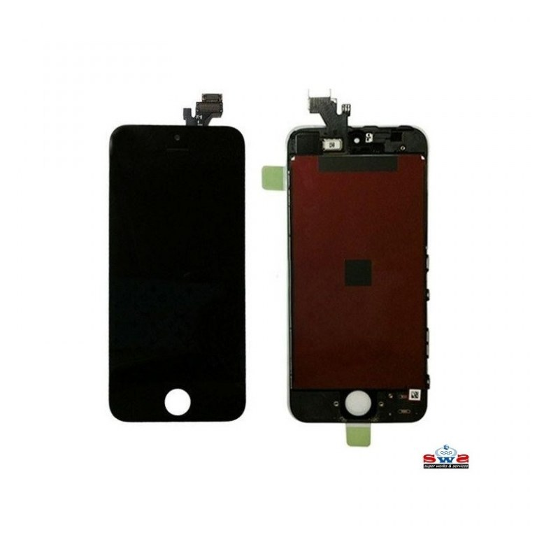 Ecran lcd iphone 5 noir new space telecom destockage grossiste for Ecran photo noir iphone 5