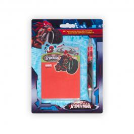 Kit de notes avec stylo Spiderman