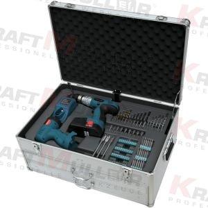 KRAFTMULLER,Ensemble d'outils professionnels 206pcs (clé à cliquet)
