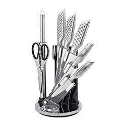 Set de couteau INOX - TITANE 8 piéces sur support
