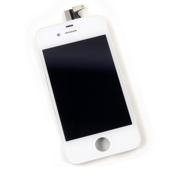 vitre et ecran lcd assembbl iphone 4s blanc noir destockage grossiste. Black Bedroom Furniture Sets. Home Design Ideas