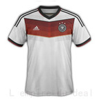 Maillot equipe ALLEMAGNE , Coupe du monde 2014