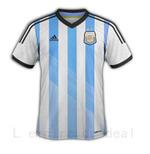 Maillot equipe ARGENTINE , Coupe du monde 2014