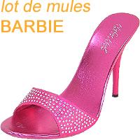 Vend lot de mules fashion