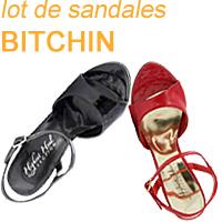 Vend lot de sandales talon haut