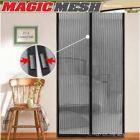 Rideaux magnétique anti-insectes magnetic mesh pour les portes