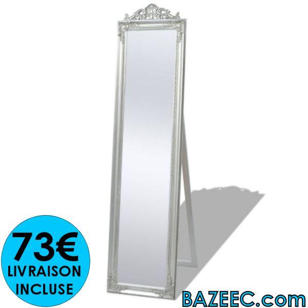 Miroir Sur Pied Style Baroque Livraison Gratuite Destockage Grossiste