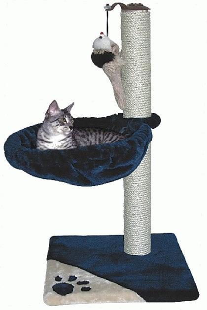 arbre chat bianca 75cm moma destockage grossiste. Black Bedroom Furniture Sets. Home Design Ideas