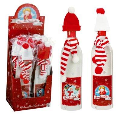 Décoration de Noël pour bouteille modèles assortis Destockage Grossiste