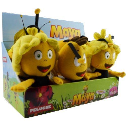 peluche maya l 39 abeille et willy 30cm destockage grossiste. Black Bedroom Furniture Sets. Home Design Ideas