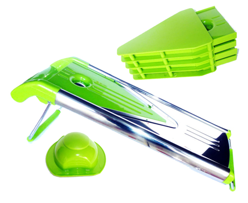 Mandoline de cuisine 8 pi ces rouge ou vert for Acheter une mandoline de cuisine