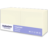 Semi-Remorque Serviettes de Table Comfort 40 x 40 Cream Pack 250