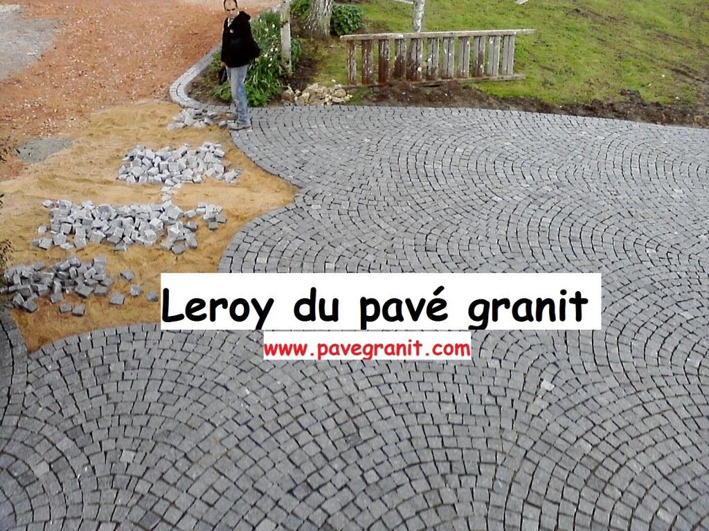 Pave granit pose compris nuno ferreira unip destockage for Pose pave exterieur