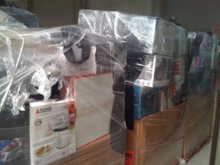 lot de palettes petits electromenager destockage grossiste. Black Bedroom Furniture Sets. Home Design Ideas