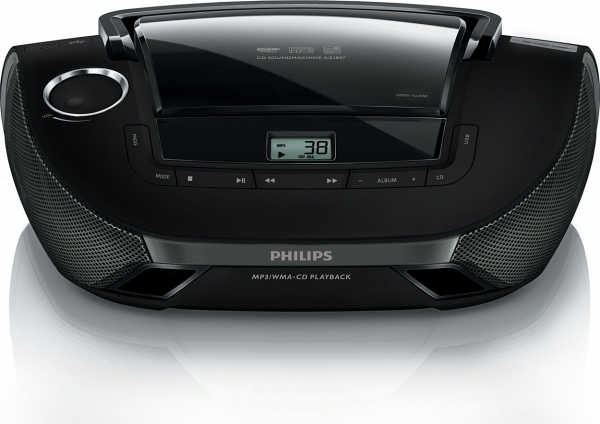 poste radio cd philips az1837 12 destockage grossiste. Black Bedroom Furniture Sets. Home Design Ideas