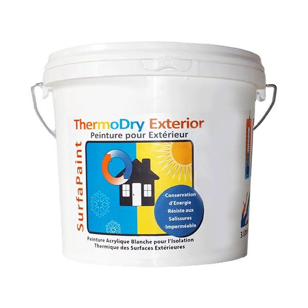 surfapaint thermodry exterior 10 l destockage grossiste. Black Bedroom Furniture Sets. Home Design Ideas