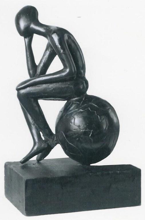statue africaine le penseur