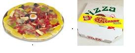 Pizza de bonbons