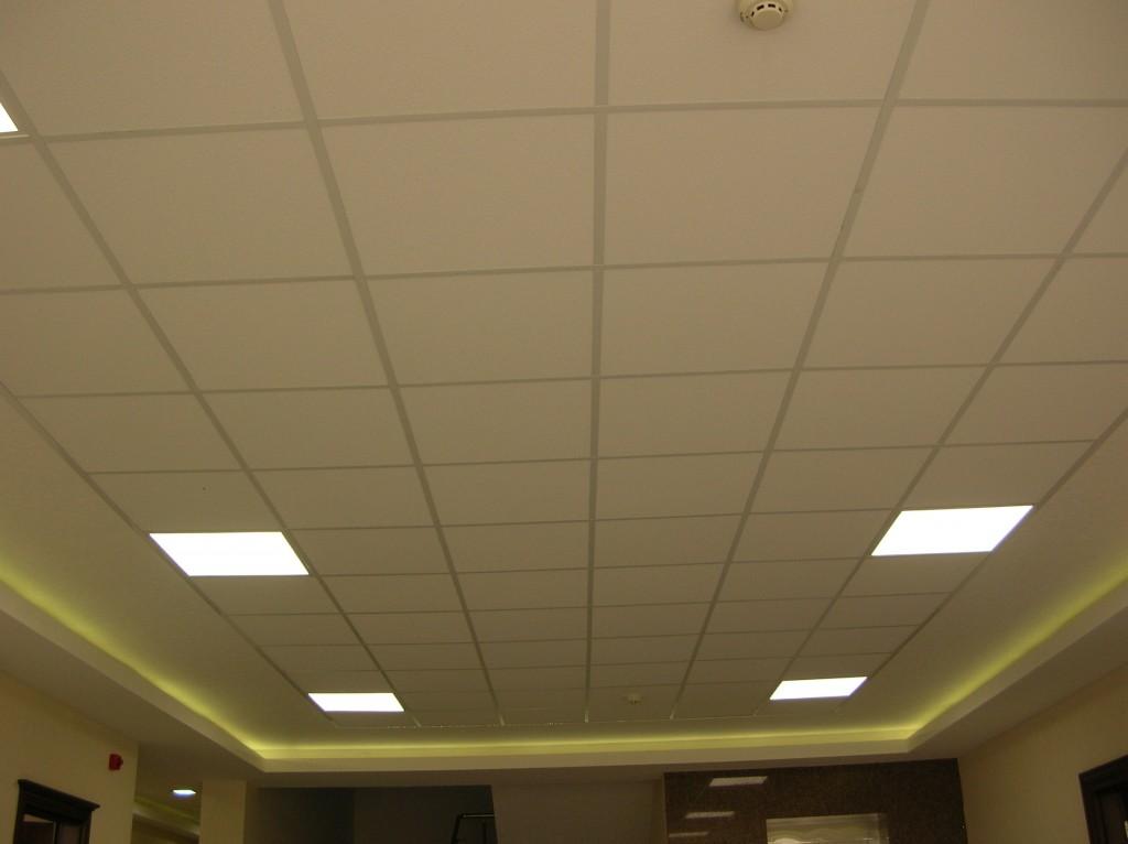 Captivant Plafond Suspendu En Matiére Dalle Lavable 60x60
