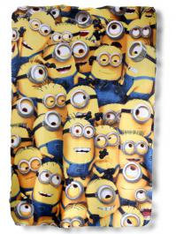 Plaid polaire Minions - 720-174