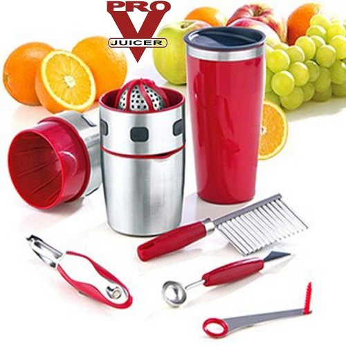 Presse agrumes pro one touch juicer shaker inox 750ml for Presse agrume professionnel occasion