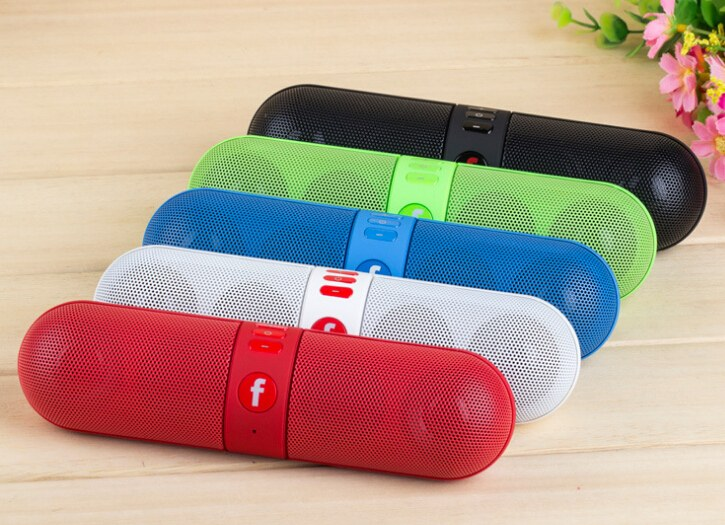 pilule design bluetooth enceinte haut parleur universel for iphone. Black Bedroom Furniture Sets. Home Design Ideas