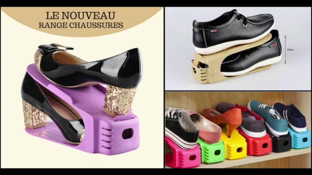 nouveau range chaussure rangement magique boite basket sneakers talons. Black Bedroom Furniture Sets. Home Design Ideas