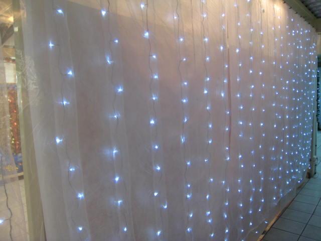 Rideaux lumineux à leds 126 Events Destockage Grossiste