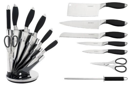 royalty line rl kss800 set de couteaux 8 pi ces destockage grossiste. Black Bedroom Furniture Sets. Home Design Ideas