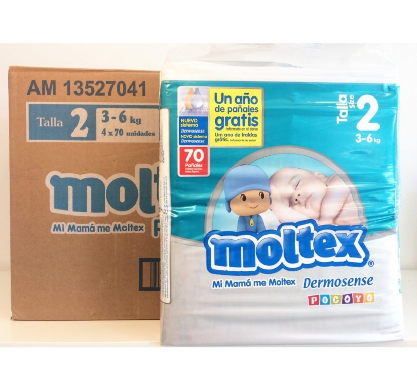 Moltex Nature Couches Taille 6 16 à 30 Kg Extra Large 22 Couches