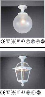 Lampe luminaire extérieur