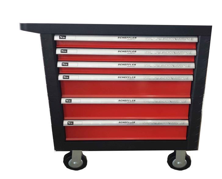 servante d 39 atelier 7 tiroirs 150 pi ces. Black Bedroom Furniture Sets. Home Design Ideas