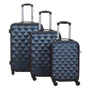 Set de 3 valises 4 roues en ABS Rigide