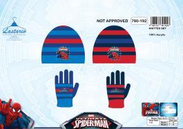 Set 2 pièces Spiderman bonnet et gants Spiderman