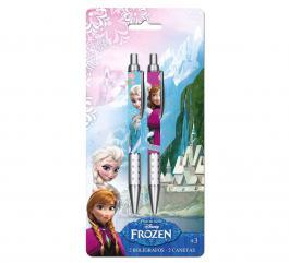 Blister de 2 stylo Frozen - la reine des neiges