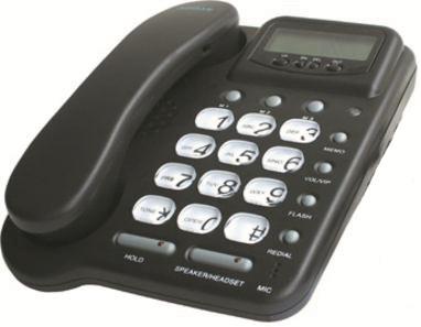 telephone filaire pabx ecoute amplifie main libre 20 no casque en. Black Bedroom Furniture Sets. Home Design Ideas