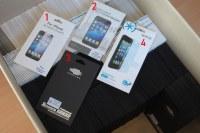 Lot 1180x Film protection écran Apple iPhone 5/5S/5C/SE/brillant/mat