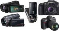 Canon Sony Nikon Leica JVC Panasonic cameraset camcorder et autres