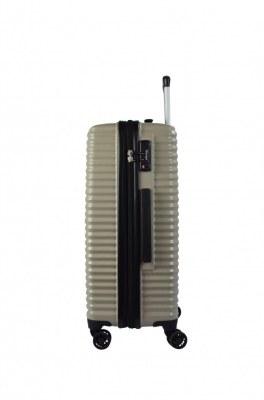 Valise lot de trois rigide pc extensible cabine pas cher serrure à code TSA ultra léger