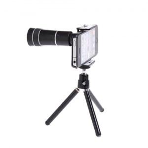 Lens Zoom 10x pour iPhone 5/5s/5c avec trepied