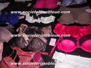LOT DE LINGERIE JUS D'ORANGE