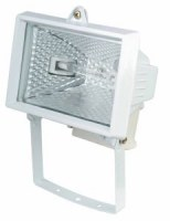 Projecteur Halogène 150W Blanc (lampe fournie)