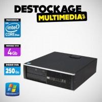 LOT 10 X HP DC 6000 SFF CORE 2 DUO E7500 2.93 GHZ 4GB 250GO DVDRW WIN 7 PRO 64