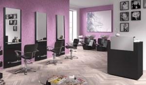 Pack Mobilier Salon coiffure FREYA 2 POSTES