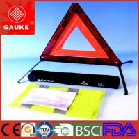 Trousse d'urgence en deux-pièces sur véhicule DIN 13164/ plaque triangulaire