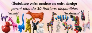 FABRICANT GROSSISTE REVENDEUR STATUES ANIMAUX RESINE